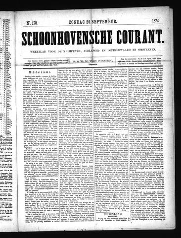 Schoonhovensche Courant 1872-09-29