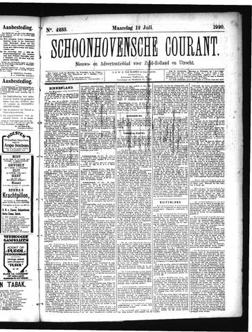 Schoonhovensche Courant 1920-07-12