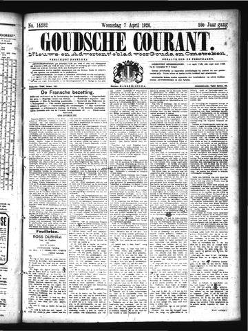 Goudsche Courant 1920-04-07