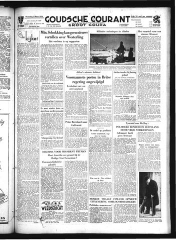 Goudsche Courant 1950-03-01