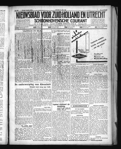 Schoonhovensche Courant 1936-05-22