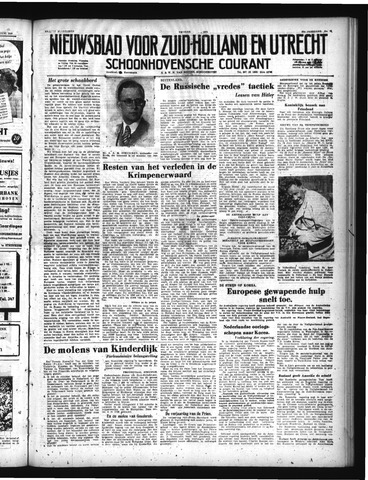 Schoonhovensche Courant 1950-06-30