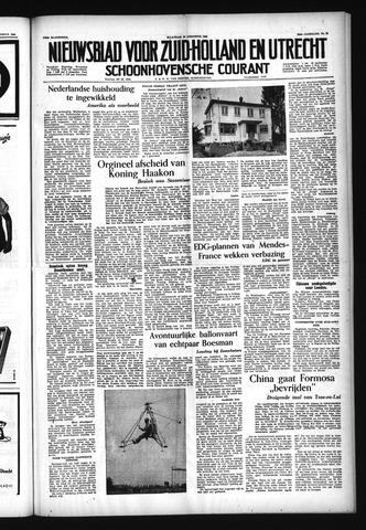 Schoonhovensche Courant 1954-08-16
