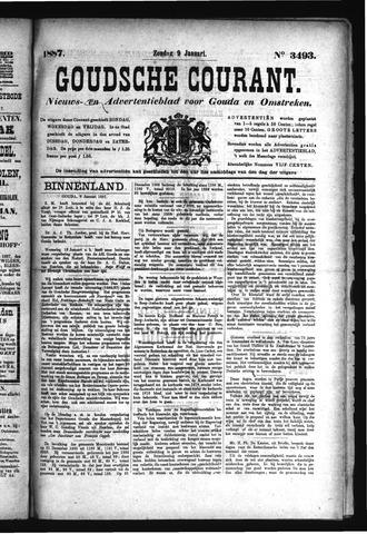 Goudsche Courant 1887-01-09