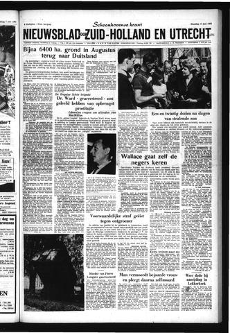 Schoonhovensche Courant 1963-06-10