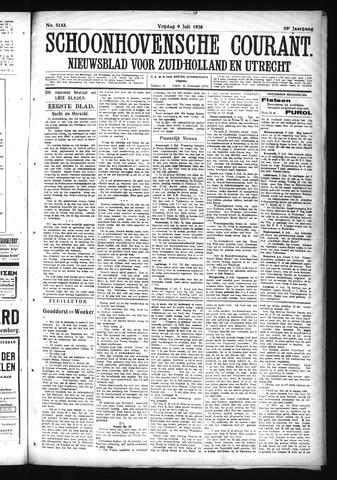 Schoonhovensche Courant 1926-07-09