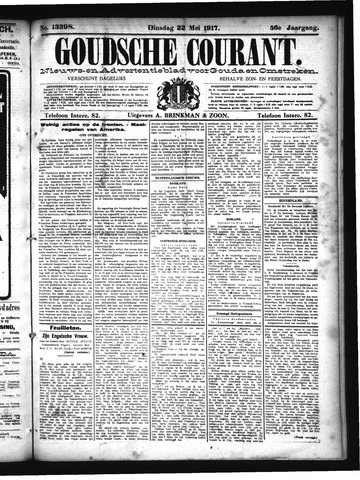 Goudsche Courant 1917-05-22