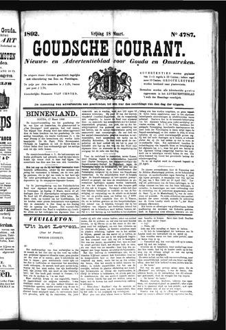 Goudsche Courant 1892-03-18
