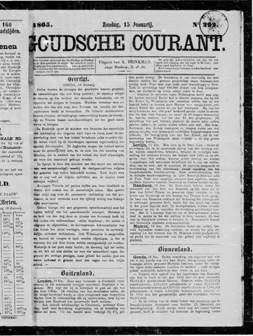 Goudsche Courant 1865-01-15