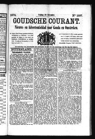 Goudsche Courant 1874-11-20
