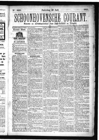 Schoonhovensche Courant 1911-07-29