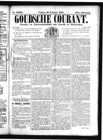 Goudsche Courant 1907-02-22