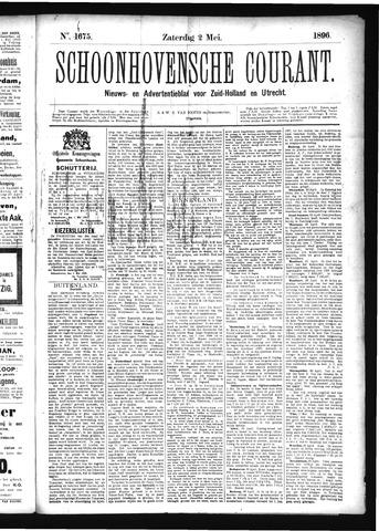 Schoonhovensche Courant 1896-05-02