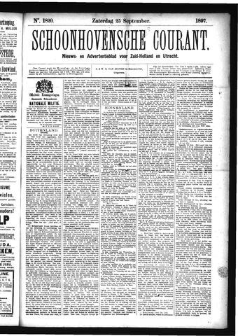 Schoonhovensche Courant 1897-09-25