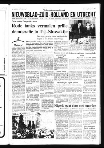 Schoonhovensche Courant 1968-08-21