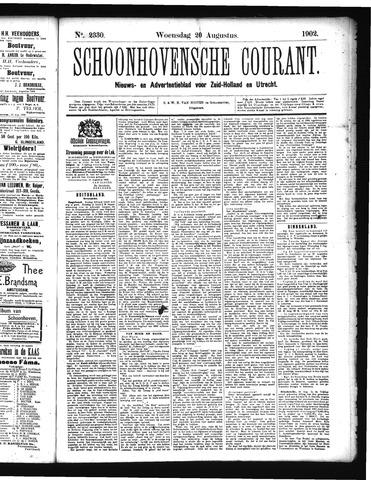 Schoonhovensche Courant 1902-08-20