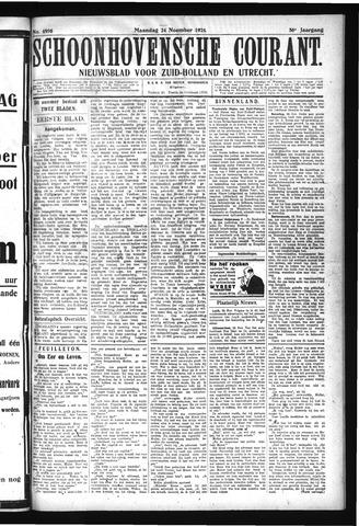Schoonhovensche Courant 1924-11-24