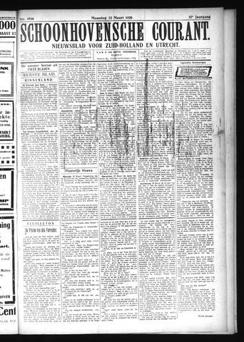 Schoonhovensche Courant 1925-03-23