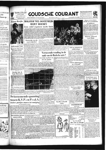 Goudsche Courant 1954-02-17