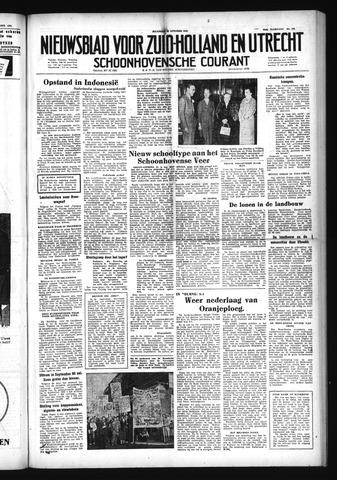 Schoonhovensche Courant 1952-10-20