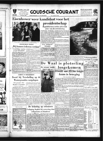 Goudsche Courant 1956-03-01