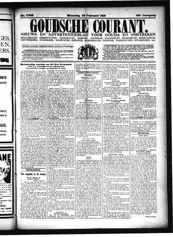 Goudsche Courant 1931-02-23