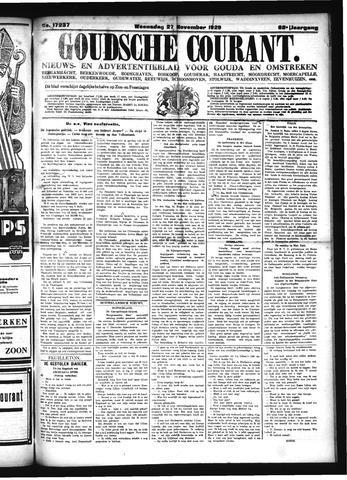 Goudsche Courant 1929-11-27
