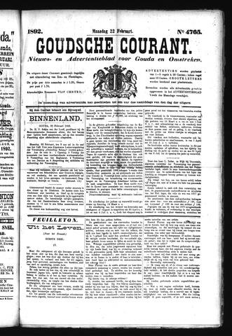 Goudsche Courant 1892-02-22