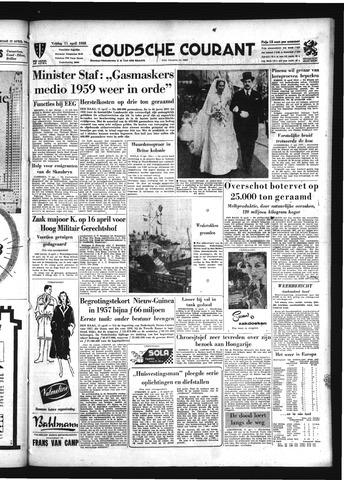 Goudsche Courant 1958-04-11