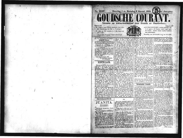 Goudsche Courant 1910