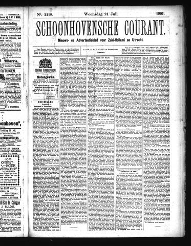 Schoonhovensche Courant 1901-07-24