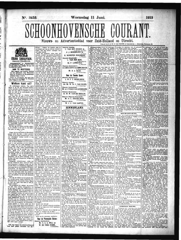 Schoonhovensche Courant 1913-06-11