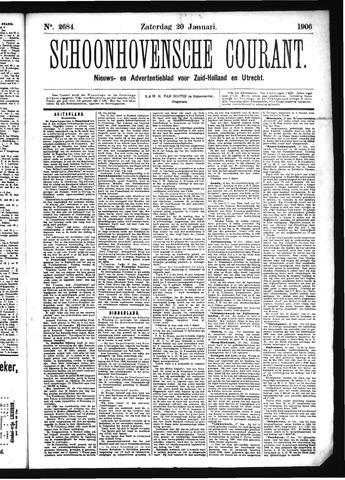 Schoonhovensche Courant 1906-01-20