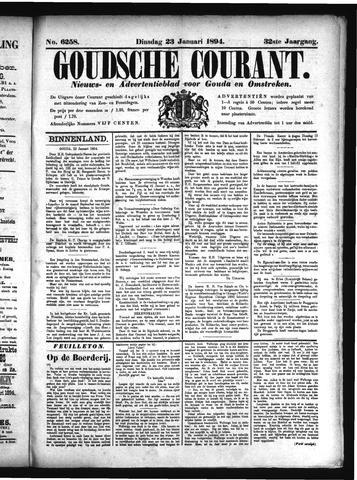 Goudsche Courant 1894-01-23