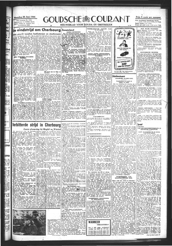 Goudsche Courant 1944-06-26