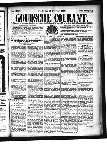 Goudsche Courant 1918-02-21