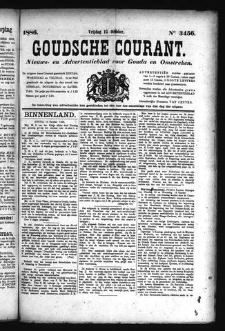 Goudsche Courant 1886-10-15