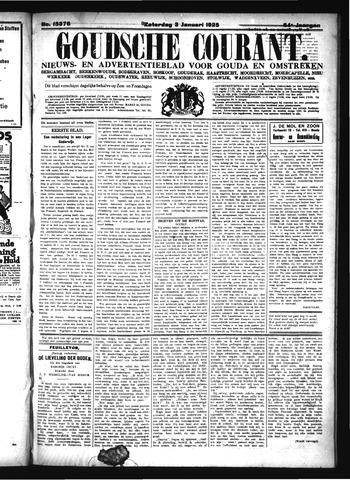 Goudsche Courant 1925-01-03