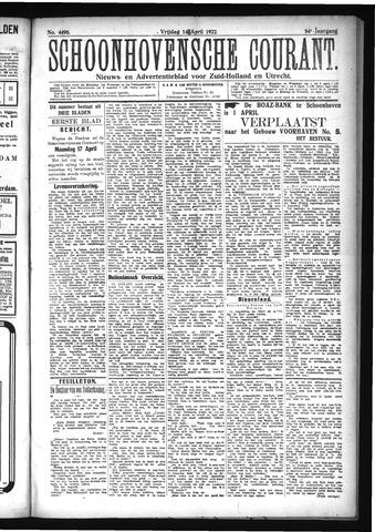 Schoonhovensche Courant 1922-04-14