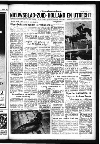 Schoonhovensche Courant 1963-08-12
