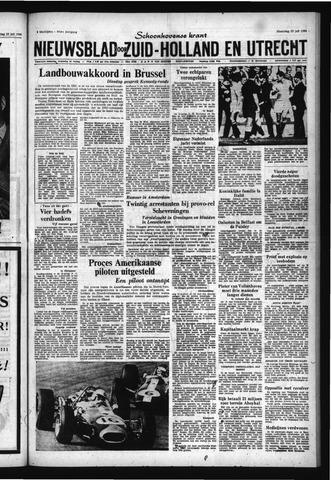Schoonhovensche Courant 1966-07-25