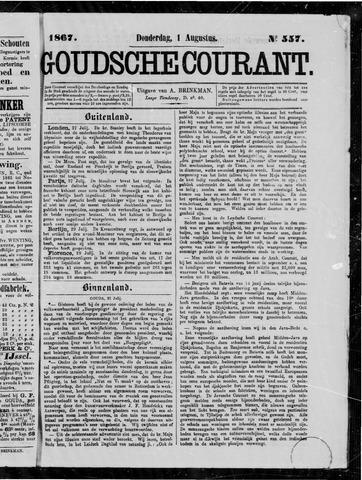 Goudsche Courant 1867-08-01