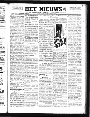Schoonhovensche Courant 1946-04-08