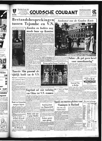 Goudsche Courant 1961-09-20
