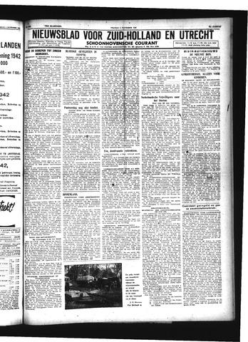 Schoonhovensche Courant 1942-11-06