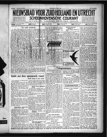 Schoonhovensche Courant 1936-04-15
