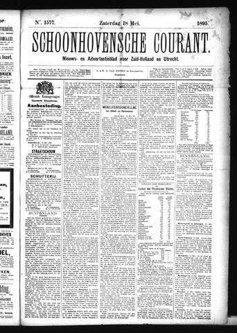 Schoonhovensche Courant 1895-05-18