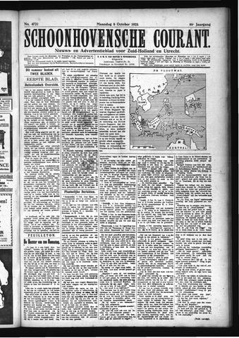 Schoonhovensche Courant 1923-10-08