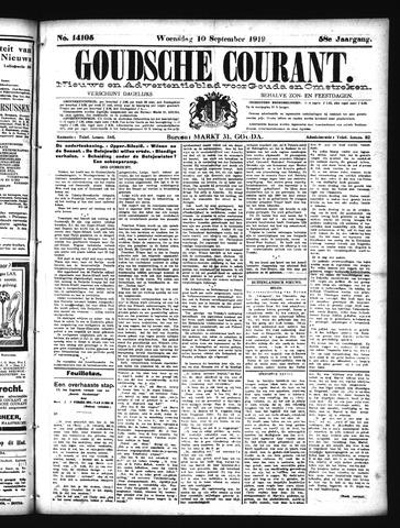 Goudsche Courant 1919-09-10