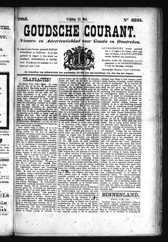 Goudsche Courant 1885-05-15